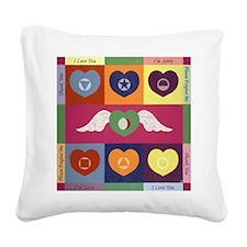 Hooponopono Square Canvas Pillow