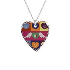 Hooponopono Necklace Heart Charm