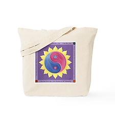 Violet Fire Tote Bag
