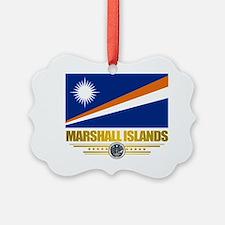 Marshall Islands (Flag 10)2 Ornament