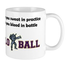 sweat_practice_black_letters Mug