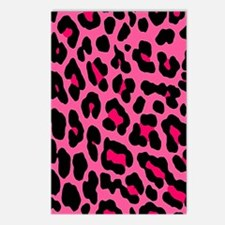 hotpinkleopard_ipad_case Postcards (Package of 8)