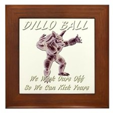 dilloballinvert Framed Tile