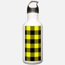 nooksleeveyelocheckere Water Bottle