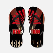 Hunger Games Revolution 3 Flip Flops