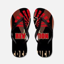 Hunger Games Revolution 2 Flip Flops