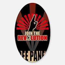 Hunger Games Revolution 2 Sticker (Oval)