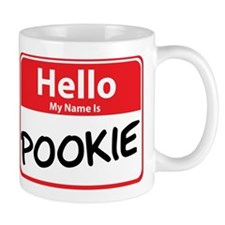 Hello My Name is Pookie Small Small Mug