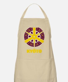 Kyoto City (gold) Apron