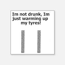 "drunk t-shirts Square Sticker 3"" x 3"""