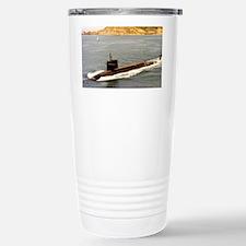 shouston ssn framed panel print Travel Mug