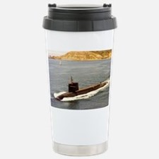 shouston ssn large framed print Travel Mug