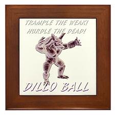 tramplehurdle Framed Tile