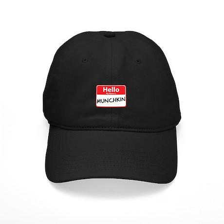 Hello My Name is Munchkin Black Cap