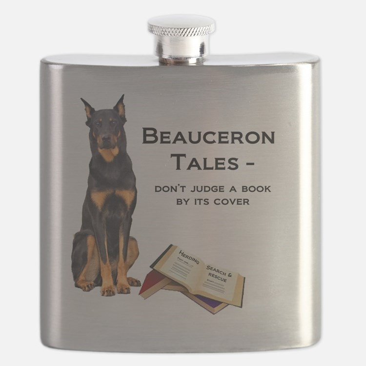 Beauceron Tales Flask