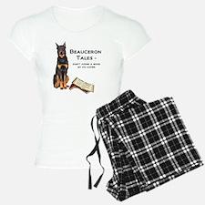 Beauceron Tales Pajamas