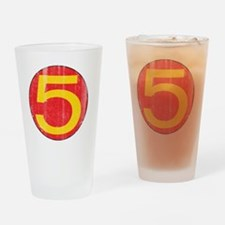 M5_shirt Drinking Glass