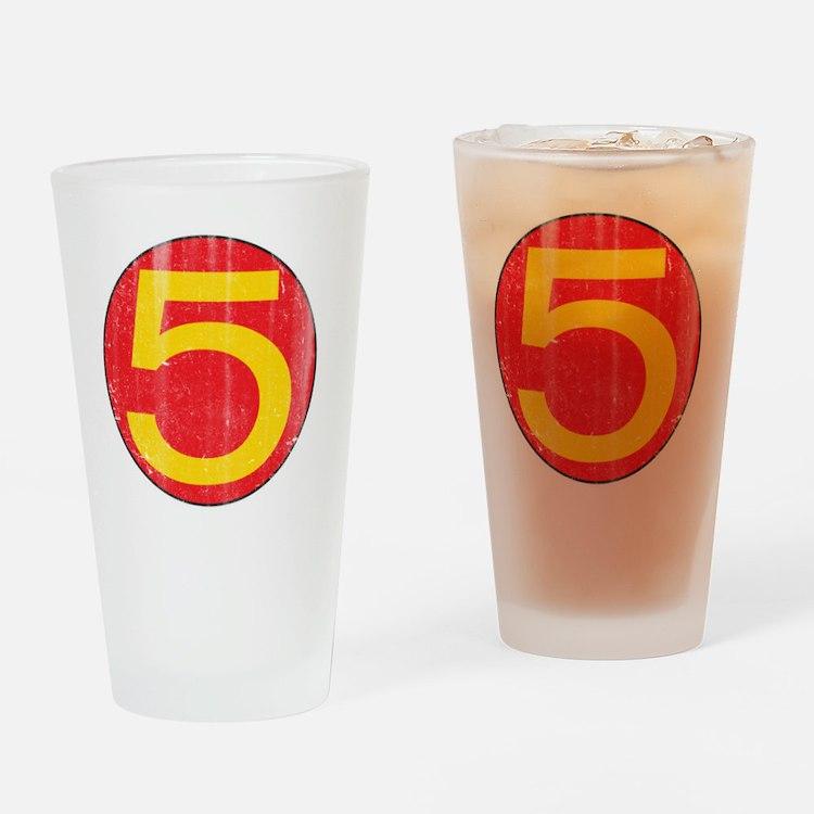 M5_shirt Drinking Glass