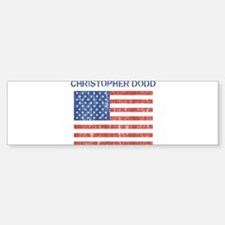 CHRISTOPHER DODD (Vintage fla Bumper Bumper Bumper Sticker
