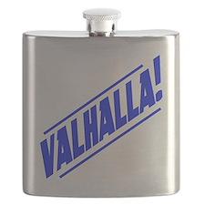 valhalla! blue Flask