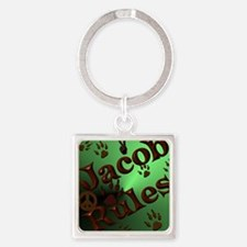 Jacob Rules shower Square Keychain