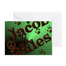 Jacob Rules shower Greeting Card