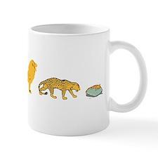evolution sucks wh Small Mug