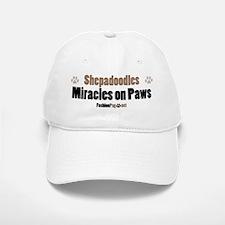 Shepadoodle dog Baseball Baseball Cap