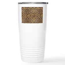 leopardprintlaptop Travel Coffee Mug