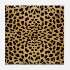 leopardprint4000 Tile Coaster
