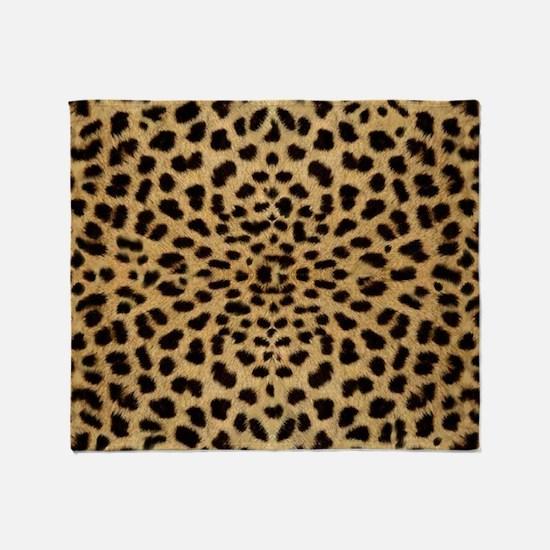 leopardprint4000 Throw Blanket