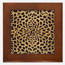 leopardprint4000 Framed Tile