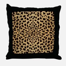 leopardprint4000 Throw Pillow