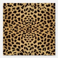 "leopardprint4000 Square Car Magnet 3"" x 3"""