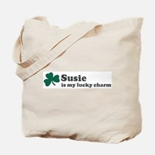 Susie is my lucky charm Tote Bag