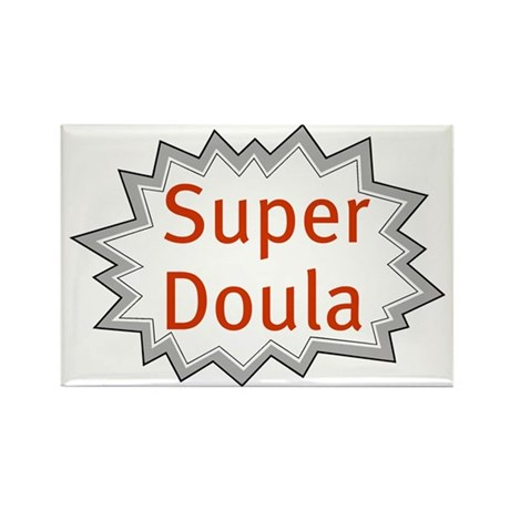 Super Doula Rectangle Magnet