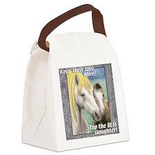 horsemnbT Canvas Lunch Bag