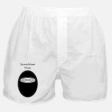 Spreadsheet Ninja A Boxer Shorts