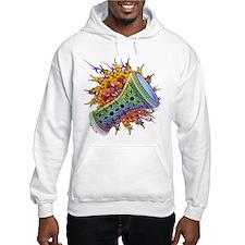 Rainbow Tribal Doumbek Hoodie