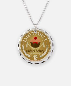 mellark bakery antique seal  Necklace