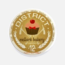"""mellark bakery antique seal hunger gam 3.5"""" Button"""