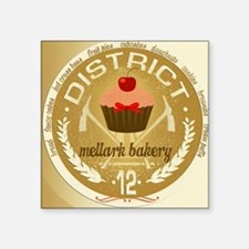 "mellark bakery antique for  Square Sticker 3"" x 3"""