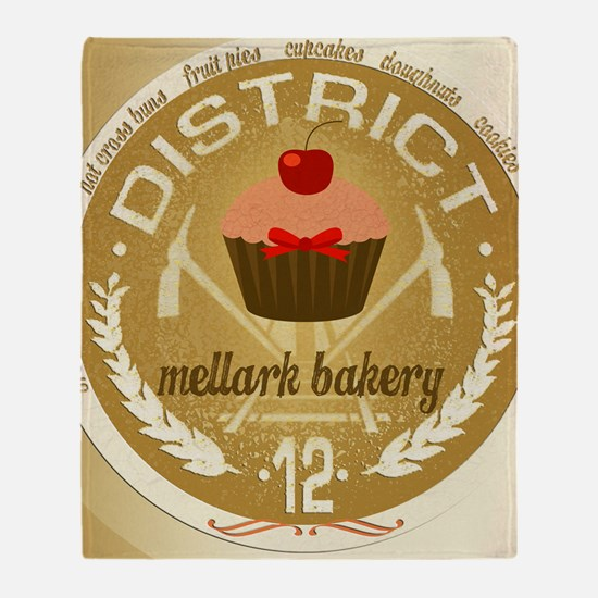 mellark bakery antique for buttons h Throw Blanket