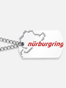 nurburgring map real Dog Tags