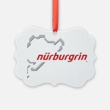 nurburgring map real Ornament