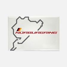 nurburgring map Rectangle Magnet