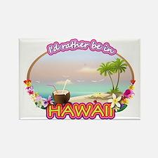 HAWAII 2 Rectangle Magnet