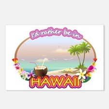 HAWAII 2 Postcards (Package of 8)