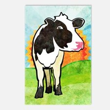 duvetTwinDairyCow Postcards (Package of 8)