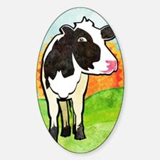 duvetTwinDairyCow Decal